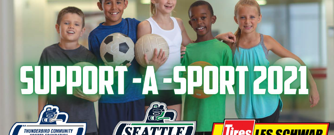 2021 Support-A-Sport with the Seattle Thunderbirds